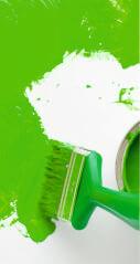 Grüne Farben bergen die Kraft der Natur in sich und lassen uns kreativer werden.