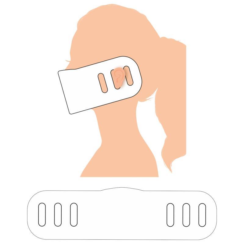 Eine einfache und günstige Maske aus EVA-Schaum. Perfekt als schneller Werbeartikel.