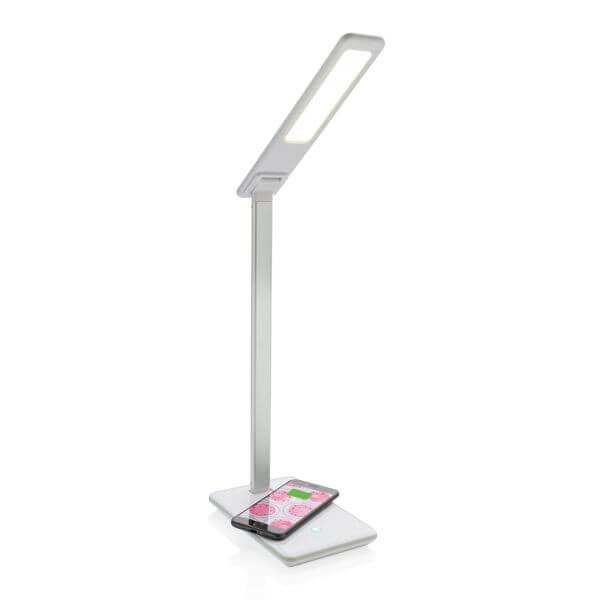 Wireless Charging Schreibtischlampe als multifunktionales Werbegadget