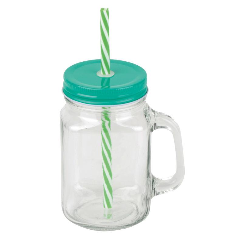 Modernes Glas mit Henkel für das perfekte Erfrischungsgetränk