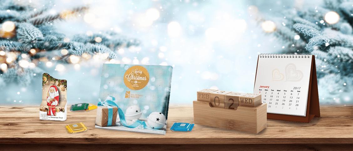 Werbeartikel für Weihnachten und Neujahr