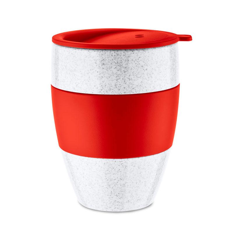 100 % recycelter Thermobecher als Geschenkidee für Ihre Kunden